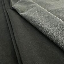 noir léger tissé coton thermocollant à repasser Entoilage - Par mètre ou 50cm