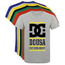Camiseta DC shoes skate deportes snow tipo C Hombre varias tallas y colores a070