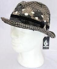 VOLCOM Don Segundo brimmed black hat man cappello nero uomo cod. D563803 _