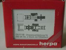 Herpa Chassis-Verkleidung MB SK - Zubehör 51118 - 1:87
