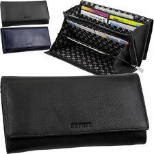 ESPRIT,Damen-Geldbörse,Lederbörse,Geldbeutel,Portemonnaie,Geldtasche,Brieftasche