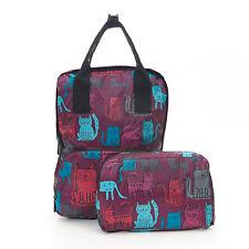 Eco Chic London Faltbarer Rucksack mit Tragegriff für Kinder, Schule Freizeit