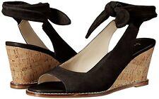 Bettye Muller Wedge Sandal Shoes Playlist Espadrille Sandal Black 8, 8.5, 9