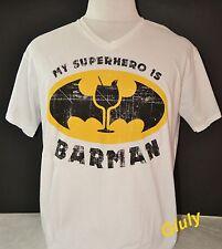 T-SHIRT BARMAN Frase Spiritosa maglia maglietta divertente simpatica Barista bar