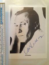 Carl Raddatz Star Model Autogramm Autograph Rarität Sammler Original Kino TV