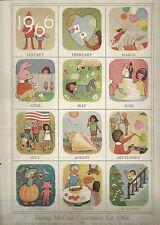 Betsy McCall Calendar for 1966-January, 1966