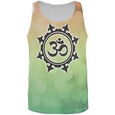 Om Yoga Inner Peace All Over Mens Tank Top