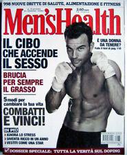 Men's Health-'03-George Clooney,Giorgio Faletti,Ben Johnson,George W. Bush,Soule