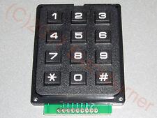 1,2,5x Keypad 3x4, 12Tasten Keyboard Matrix Tastatur Modul f. Arduino Atmel AVR