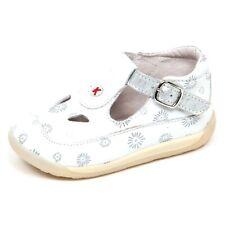 E6974 sandalo bimba white/silver KICKERS KRATE scarpe shoe baby girl