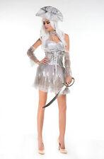 Mujer Blanco Pirata Fantasma Disfraz Halloween Disfraz ladcos23