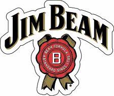 JIM BEAM Sticker Decal Whiskey Bourbon Alcohol Bar Wall Vinyl CHOOSE SIZE 3