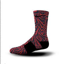 Custom Nike Elite Socks All Sizes NEW ENGLAND MAZE