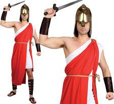 SPARTAN WARRIOR COSTUME MENS GREEK ROMAN SOLDIER FANCY DRESS ADULT GLADIATOR