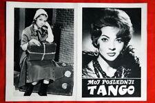 LAST TANGO MONTIEL SPANISH 60 RARE EXYU MOVIE PROGRAM