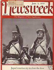 1939 Newsweek June 5 - Rhine floods Hitler's Forts