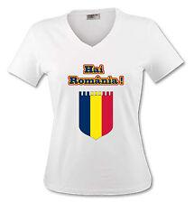 T-shirt Femme Roumanie - Hai România! - du S au XL