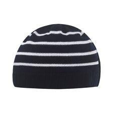 Strick Topfmütze blau weiß gestreift für Baby von Döll für Jungen