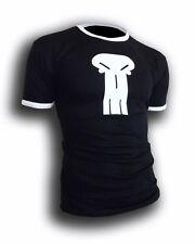 Mens punisher style scott pilgrim Symbol ringer todd ingram T-shirt *NEW* S-XXL