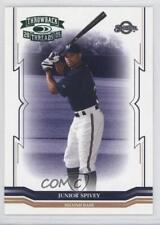 2005 Donruss Throwback Threads Green Century Proof #258 Junior Spivey Card
