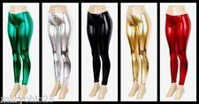 Lot Womens Wet Mermaid Shiny Liquid Snake Metallic Leggings Tight Pants S M L XL