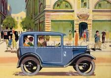 Austin, Wydor, Vintage, Cars 1930s Art Deco, Poster Print