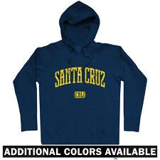 Santa Cruz California Hoodie - Hoody Men S-3XL - Gift Cycling Skater UC Beach CA