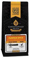 Christopher Bean Coffee PUMPKIN SPICE Flavored Coffee 1-12-Oz Bag
