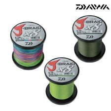 Daiwa J-Braid X8 1500m Spule Stärke und Farbe zur Auswahl Geflochtene Schnur