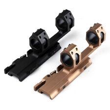 2 Color 30mm/25.4mm Rifle Scopes Ring QD Mount Weaver/Picatinny Scope Rail Mount