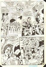 Hawkman Special #1 p.29 - Hawkman & Rock Aliens - 1986 art by Richard Howell