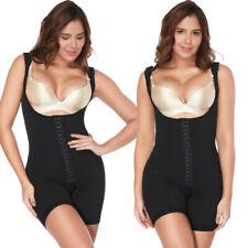 Women's Full Firm Shaper Fajas Post Surgery Liposuction Garment Panty Bodysuit #