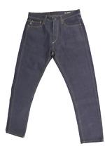 JACK & JONES Herren Jeans Erik Original Felling Piping Blau W32/L30 W33/L30