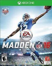 Madden NFL 16 (Microsoft Xbox One, 2015) NEW