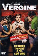 Dvd **40 ANNI VERGINE** nuovo 2005
