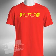 Jurgen Klopp BOOM Mens T-Shirt KLOPP Liverpool Funny Glasses Godfather Europa