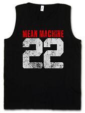 MEAN MACHINE 22 GYM TANK TOP VEST - The Longest Yard Movie Martial Arts Fight