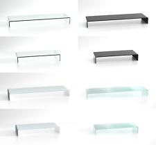 Duratable Pièce en Verre Table LCD Télévision Jointe Moniteur