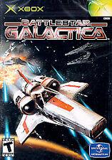 Battlestar Galactica (Microsoft Xbox, 2003) FREE SHIPPING COMPLETE