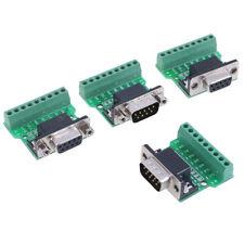 Connecteur D-Sub à 9 broches, adaptateur série DB9 RS232 à terminalTRFR