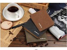 Hot Sale Fashion Men Wallets Quality Soft Linen Design Wallet Casual