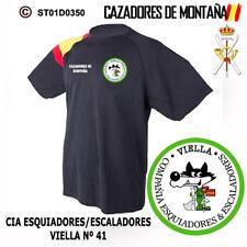 CAMISETAS TECNICAS CAZADORES DE MONTAÑA: VIELLA - CIA ESQUIADORES / ESCALADORES