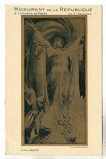La Chaux De Fonds - Monument Postcard 1910