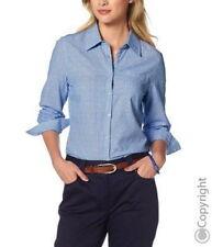 CORLEY - Bluse- Hemdbluse - Gr. 40,44,46 - Farbe :bleu- Baumwolle 100% - NEU