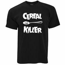 nouveauté petit-déjeuner T-Shirt Cuillère céréales Tueur Joke