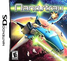 Nanostray (Nintendo DS) Lite DSi XL 3DS 2DS w/Case & Manual