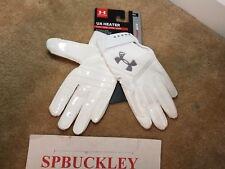 Ua Under Armour Heater Youth Baseball Batting Gloves, 1299654, Nwt, Pair