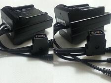 D-Tap power dc battery distributer NP-F970 F960 F550 DSLR rig dc 5V/7.4v/9v/12v
