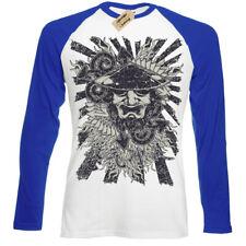 Samurai T-Shirt japanese ronin Mens Baseball T-Shirt