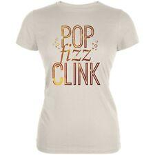 New Years Pop Fizz Clink Soft Cream Juniors Soft T-Shirt